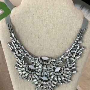 Stella & Dot statement bibbed necklace.